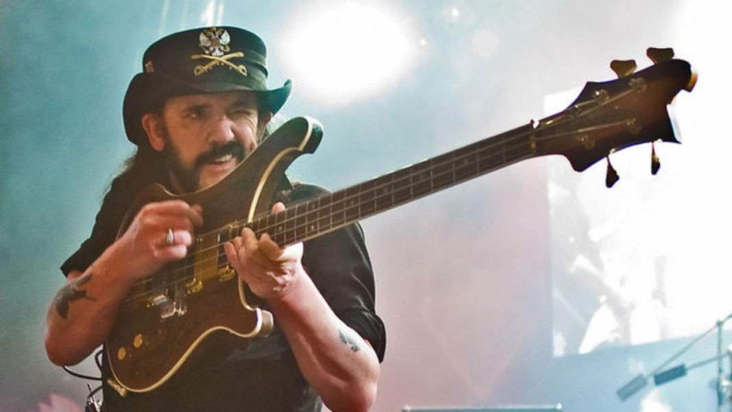 Lemmy with Guitar
