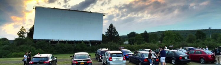 AT THE (MAHONING) DRIVE-IN with  Virgil Cardamone And Matthew McClanahan