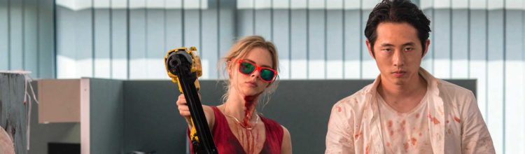 Joe Lynch vs. the 9 to 5 Grind: Gory Horror Satire MAYHEM Hits Home Video
